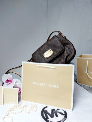 Michael Kors Borsa a spalla oro-marrone scuro