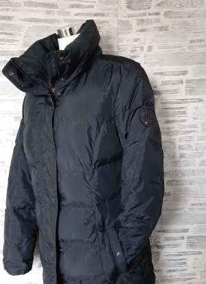 Tommy Hilfiger Down Coat black-silver-colored