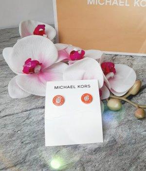 Orginal Michael Kors Ohrstecker, rose'gold, Orange,Strass, Neu& OVP!