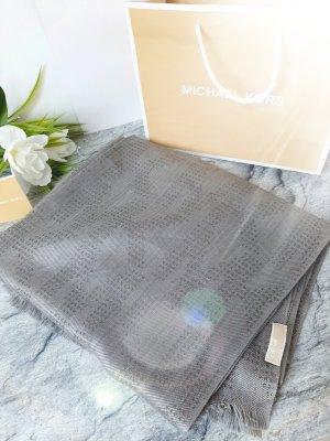 Michael Kors Sjaal met franjes grijs