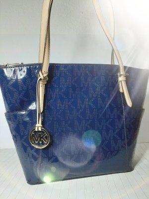 Michael Kors Shopper goud-donkerblauw