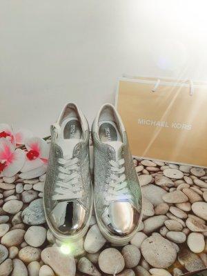 Orginal Michael Kors Sneaker, Leder,  weiss/silber,Gr 39, Hochwertig!