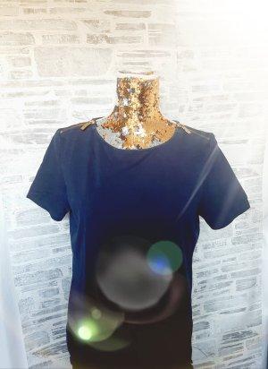 Orginal Michael Kors T Shirt, Gr. M, Blau/gold, Hochwertig!