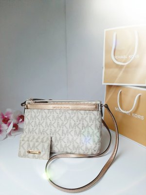 Orginal Michael Kors Taschenset,Cross Body&Rosegold'Clutch,TOP!