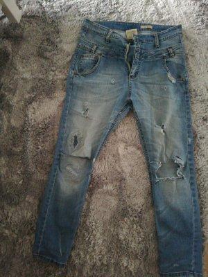 Please Jeans boyfriend bleu