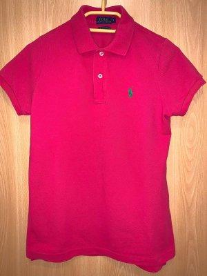 Polo Ralph Lauren Top Polo magenta-rosso lampone