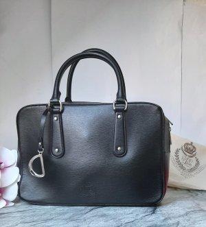 Orginal Ralph Lauren, Handtasche, Echtleder, schwarz, Neuwertig!