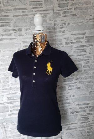 "Orginal Ralph Lauren Poloshirt,blau,"" Big Pony"", Gr M, Hochwertig!"