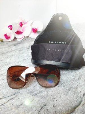 Orginal Ralph Lauren Sonnenbrille braun/gold, Case & Brillenpuztuch, Hochwertig!