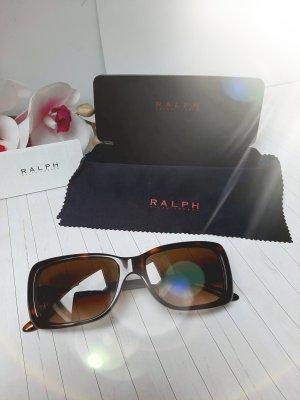 Ralph Lauren Angular Shaped Sunglasses gold-colored-brown