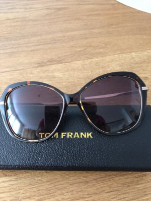 Tom Frank Square Glasses brown-gold-colored