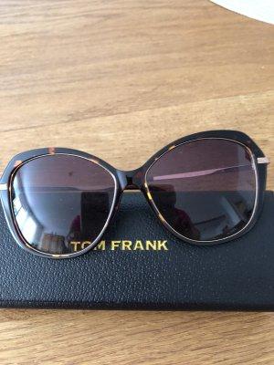 Tom Frank Gafas cuadradas marrón-color oro