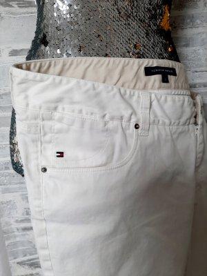 Tommy Hilfiger Pantalone a 3/4 bianco-bianco sporco Cotone