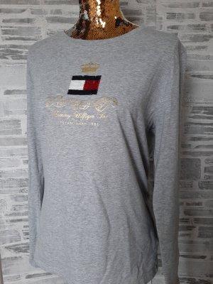 Orginal Tommy Hilfiger L/Arm Shirt, Gr XL, grau,Neuwertig!