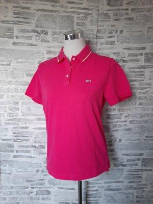 Orginal Tommy Hilfiger Poloshirt,  regulär Fit, pink, gr.M, Neuwertig