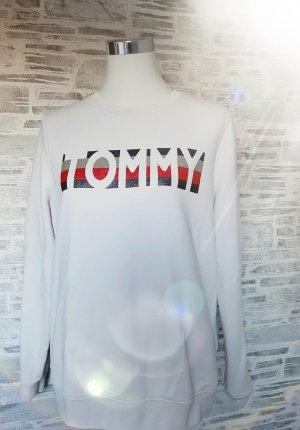 Orginal Tommy Hilfiger Sweater,  beige/ Glitzer, Gr.L, Hochwertig!