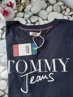 Orginal Tommy Hilfiger T Shirt, blau, Gr.L, Neu!