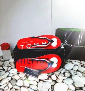 Tommy Hilfiger Flip-Flop Sandals red-blue