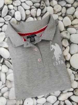 Orginal U.S.Polo Assn.Shirt, grau, Gr.XL, Neuwertig!