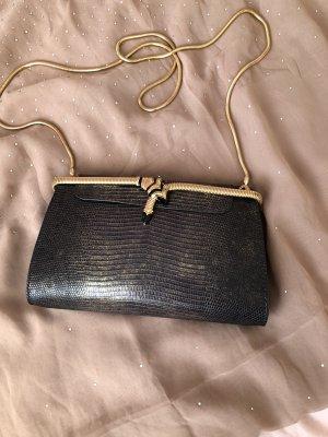 Bulgari Pouch Bag black-gold-colored