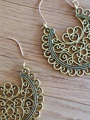 Orientalische Kreolen goldfarben