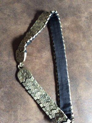 Cinturón de cadena color plata