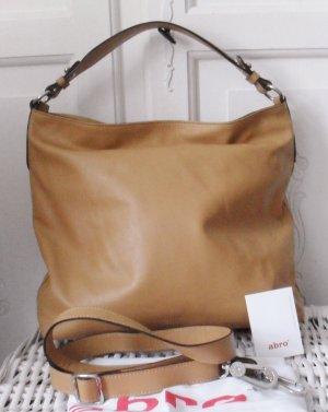 abro Hobos light brown leather