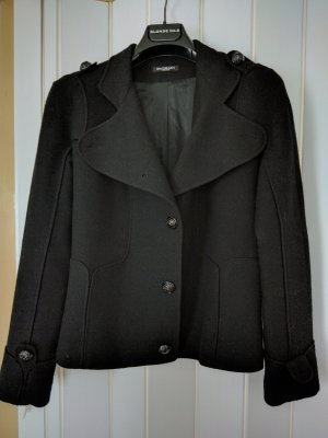 Balmain Wool Jacket black cashmere