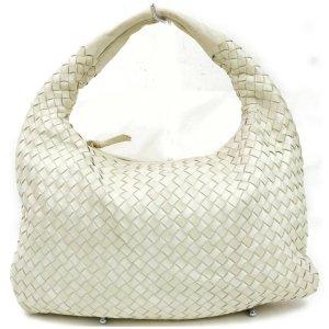 ORIG. BOTTEGA VENETA INTRECCIATO HOBO TASCHE NAPPA LEDER WEISS WHITE Bag / GUTER ZUSTAND