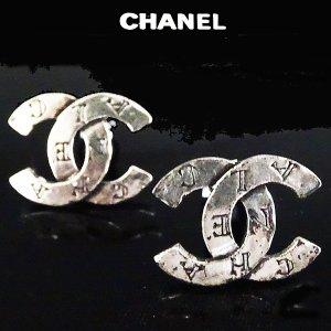 Chanel Orecchino a clip argento Metallo