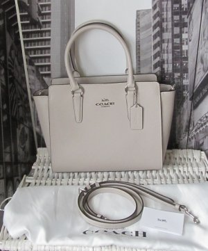 Coach Tote light grey leather