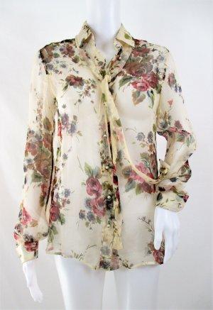 Dolce & Gabbana Silk Blouse multicolored silk