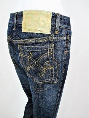"Orig. Dolce & Gabbana ""Black Label"" Jeans/Denim/Regular-Straight fit/Five-Pocket/Blau/100% Baumwolle/Gr. 36/wie NEU!"