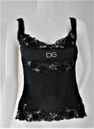 """Orig. Dolce & Gabbana """"Black Label"""" Trägertop aus Seide TOP ZUSTAND!"""