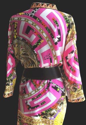 Versace Silk Blouse multicolored silk