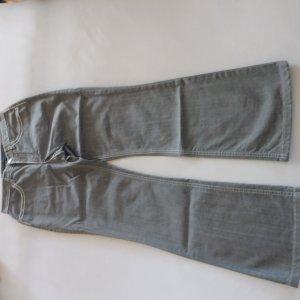 Escada Sport Jeans a gamba dritta bianco-grigio Cotone