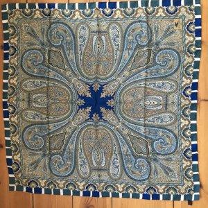 Orig. Etro Luxus carré Seidentuch Seide Schal Tuch Print Motiv Paisley
