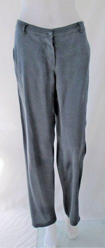 Gianfranco Ferré Pantalone Marlene grigio scuro-grigio Seta