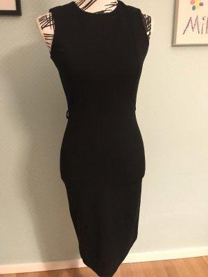 Gucci Ołówkowa sukienka czarny Tkanina z mieszanych włókien