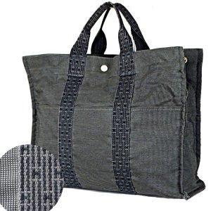 ORIG. HERMES FOURRE TOUT GM CANVAS SHOPPER Handtasche BEIGE / HÉRMES-LOGO * GUTER ZUSTAND