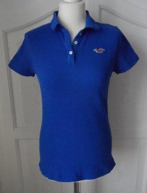 orig. Hollister Poloshirt Gr. M Blau wenig getragen