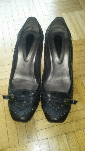 orig #JANET & JANET#Gr 39 Pumps Halbschuhe Schuhe merhfarbig neu ehem. UVP 179 €