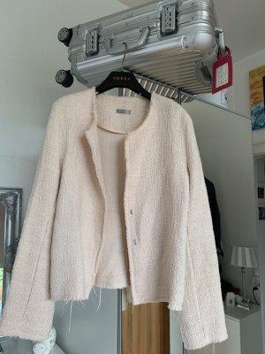 Orig JUVIA Boucle Blazer Jacke rosé M 36 38 wNeu 299€ iro