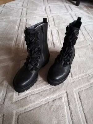 Orig. Kennel & Schmenger Boots 4 37 neu schwarz Blumen Stiefel