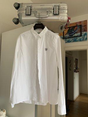 Orig KENZO Paris Bluse Hemd weiß Tiger 36/38 S NP195€