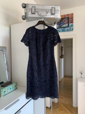 Orig LAUREN Ralph Polo Kleid Spitzenkleid Kleid Neu S 36/38 navy Hochzeit 299€