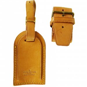 Louis Vuitton Travel Bag beige leather