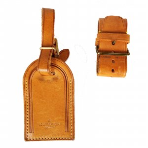 Louis Vuitton Bolso de viaje camel Cuero
