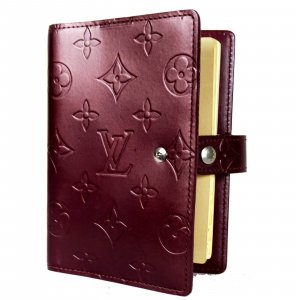 Orig Louis Vuitton Agenda Fonctionnel PM Monogram Malden Mat TIMER NOTIZEN / GUTER ZUSTAND