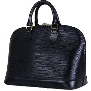 ORIG. LOUIS VUITTON ALMA EPI LEDER SCHWARZ BLACK NOIR Handtasche Bag / GUTER ZUSTAND